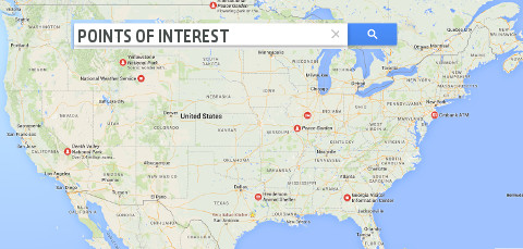 Points Of Interest Roadrunner Limousine - Us major airports map